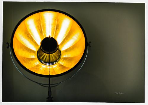 The Light Illuminated Your Eyes