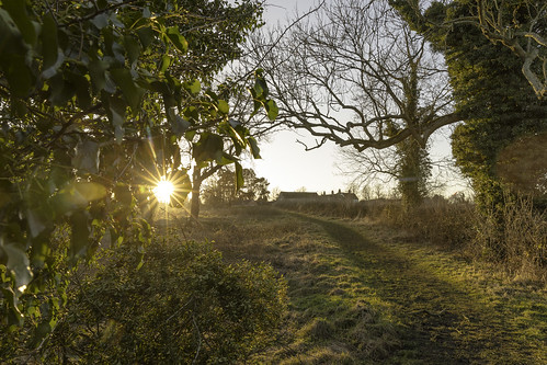 picture countryside perfect day perfectday sunlight starburst path light knowle solihull