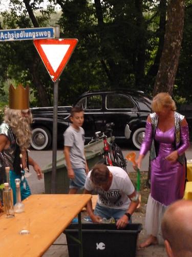 Grillfest mit Neptuntaufe Juni 2017