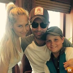 Anna Kournikova and Enrique Iglesias Welcome Twins