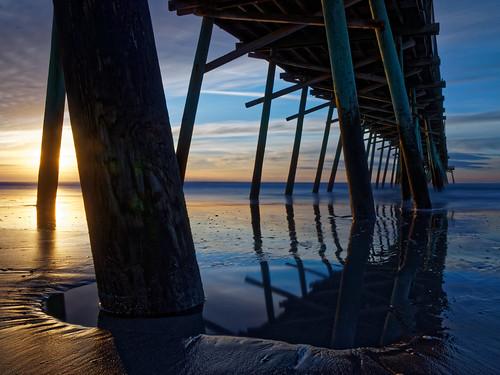 boguepier pier emeraldisle northcarolina sunrise seascape waterscape