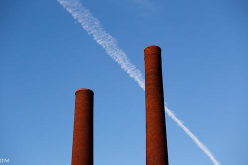 lawrence sunrise smokestack mills 6d