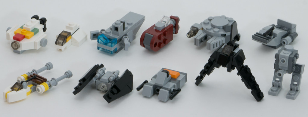 Advent 2017 Star Wars Micro Ships Micro Models From The 20 Flickr