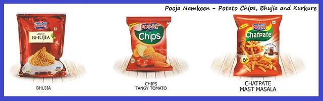 Perfect Snack Yummy Potato Chips, Kurkure And Bhujia