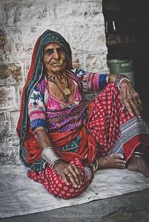 Old Woman in Jodhpur