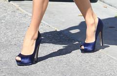 SEMI-EXCLUSIVE: Eva Longoria Leaving Her House In Los Angeles