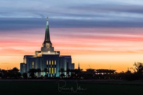 arizona gilbert temple ldstemple mormon sunrise goldenhour dawn architecture nikon religion
