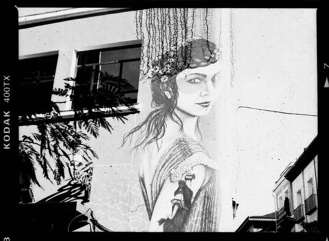 Graffiti a la Española - Bronica S2a