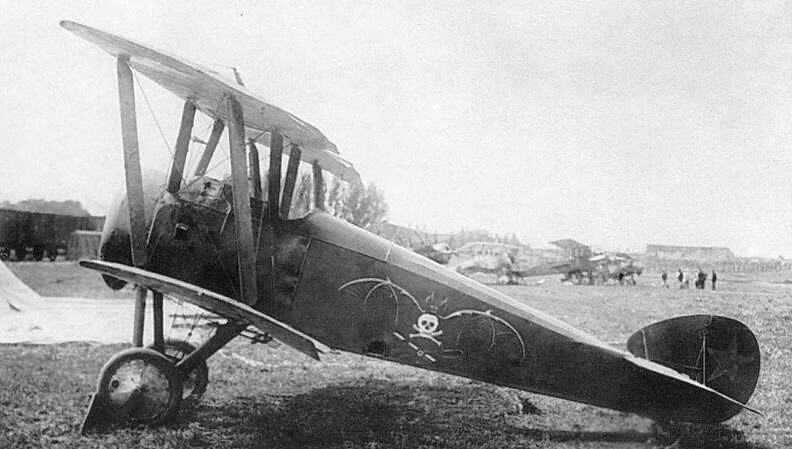 Sopwith Camel in service with the Soviets