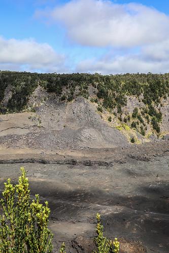 hawaii hawaiivolcanoesnationalpark volcanicgases lavalake kilalueaikicrater kīlaueassummit kīlauea kīlaueacaldera volcanicactivity puʻupuaʻioverlook talus taluscone rockfall wyojones np