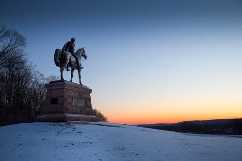 pennsylvania valleyforge winter revolutionarywar snow morning dawn