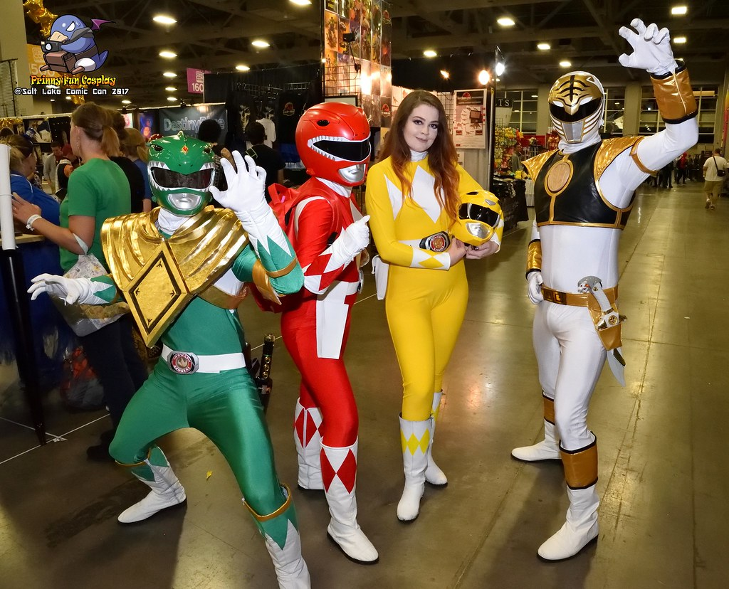 Mighty Morphin Power Rangers - Green Ranger, Red Ranger, Y… | Flickr