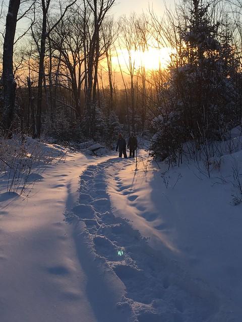 Snowshoe Sunset. #nofilter