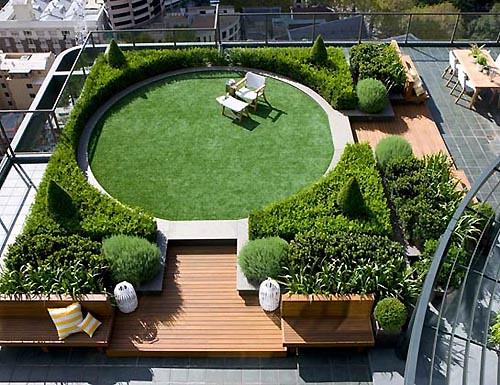 Modern Rooftop Garden Design Nazmulhassan1993 Flickr