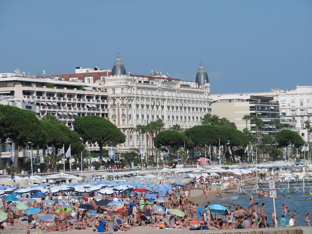 Cannes, France 2 | Cannes beach hotel Carlton | Greger Ravik | Flickr