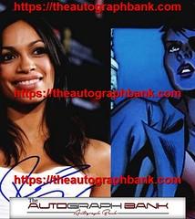 Rosario Dawson authentic signed memorabilia | http://ift.tt/2kYhiwh