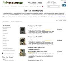2017 TRAIL CAMERA REVIEWS