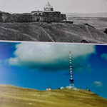 Artsakh museum - ancient Armenian Astvatzatzin monastery was demolished and replaced with a radio tower.