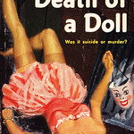Hilda Lawrence - Death of a Doll (1948, Pocket Book #540, cover art by Hedley Rainnie)