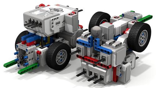 Fllying Dragon EV3 Robot (pair)   by dluders