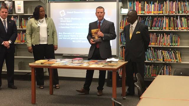Kimbell students celebrate literacy with U S  Representative