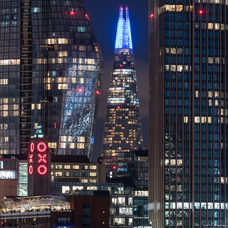 The Shard Lights, London