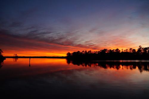 sunset spectacularsunsetsandsunrises cloudsstormssunsetssunrises dusk afterglow creek northcarolina northwestcreek reflections fairfieldharbour sony sonya58 sonyphotographing
