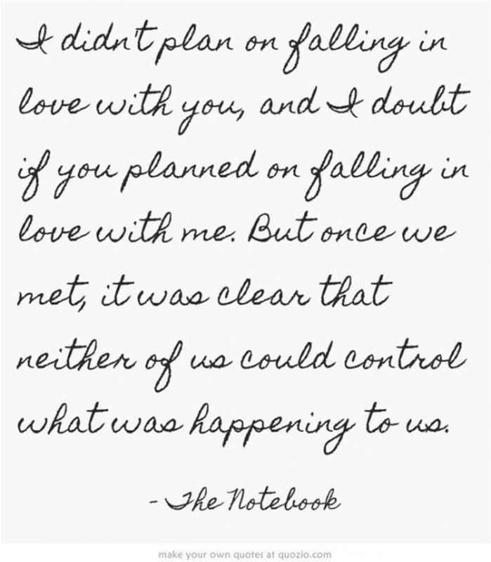 Quotes about Love : Love quote from The Notebook | Quotes ab ...