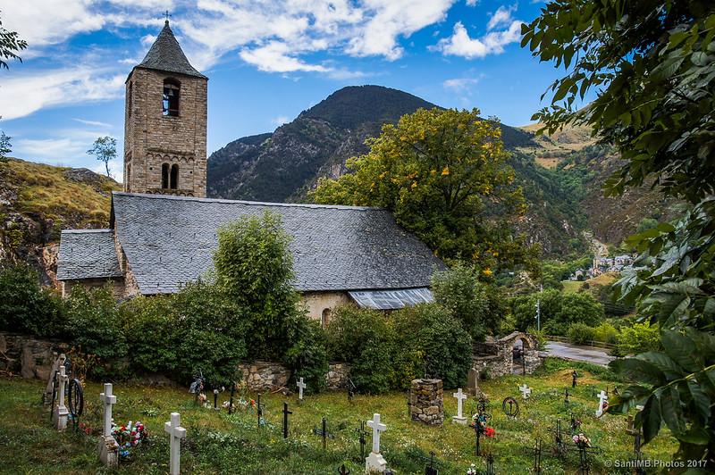 Sant Joan de Boí y el cementerio
