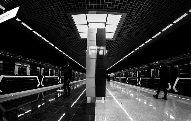 The new station moskov metro-
