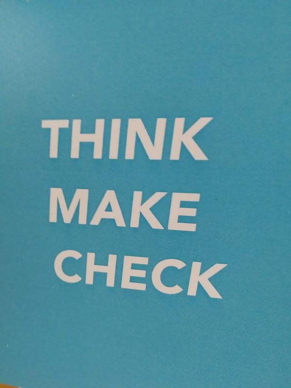 think make check