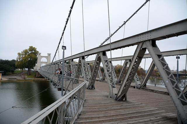 Waco Suspension bridge,
