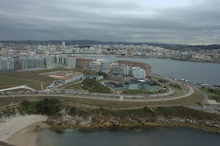 View from the Torre de Hércules