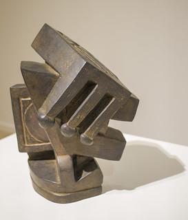 Composition dite cubiste II - Alberto Giacometti - Vers 1927 - Bronze