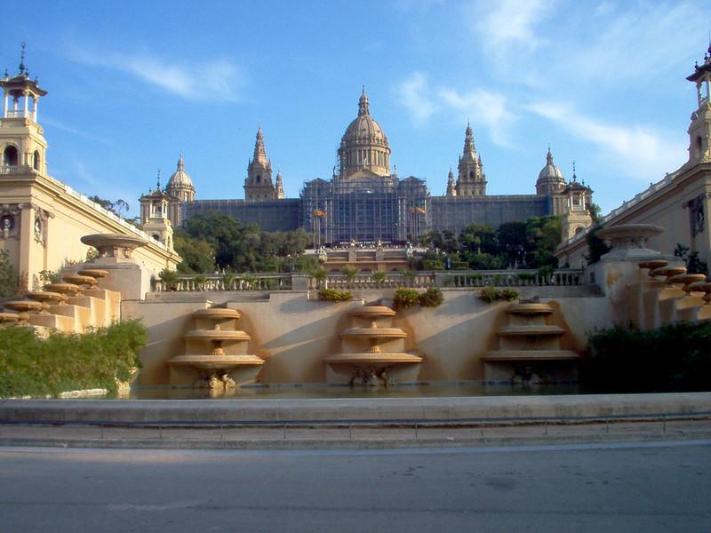 Barcelona, Montjuïc, the gallery
