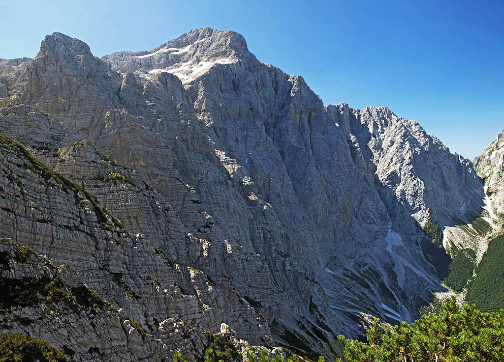 Triglav from Tominskova pot