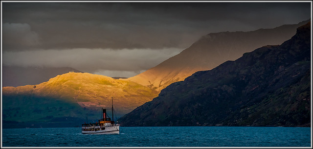 Sailing into the dusk