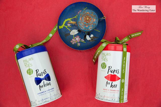 Palais des Thés Valentine's Day teas - Paris for Him and Paris for Her