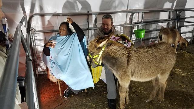 Holy Family at Living Nativity