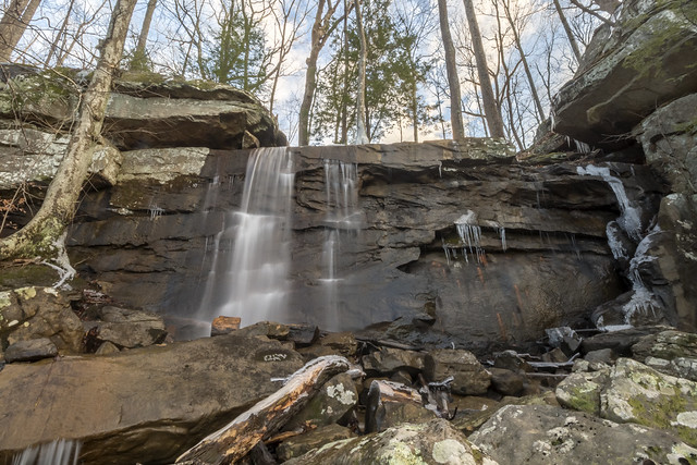 Pierce Falls, White County, Tennessee 1