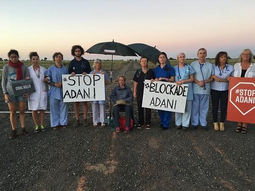 Doctors & Health Professionals Blockade Adani
