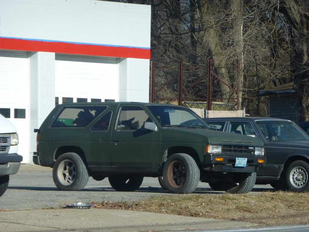1987 Nissan Pathfinder 2-door | Introduced in 1985 and in No