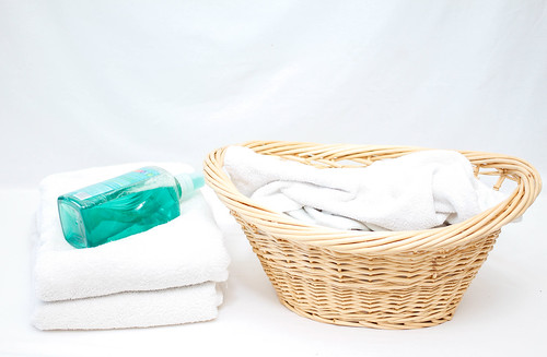 Laundry Basket with Soap | by wuestenigel