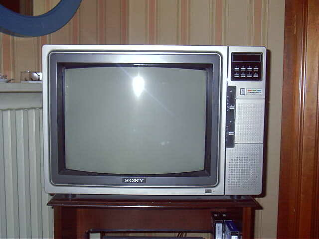 Televisore Sony Trinitron 1976