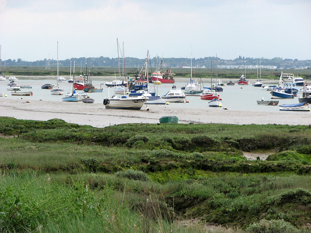 Strood Channel, West Mersea