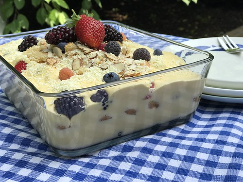 Lemon & Berry Tiramisu | by Seven Green Apples