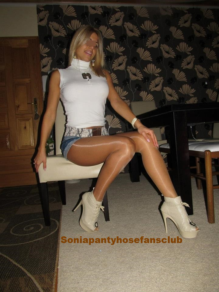 Happens. shiny bown pantyhose right! seems