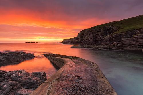 sunset dromanbay davidmackenzie invernessian dalneigh inverness scottishhighlands highlander scotland sutherland invernesscaledonianfc