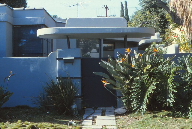 1936 Streamline William Kesling house for Wallace Beery