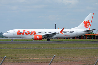 Lion Air Boeing 737-8 MAX PK-LQF | by @fikrizzudinoor